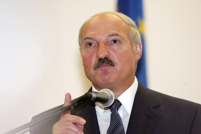 Aliaksandras Lukašenka.<br>T.Bauro nuotr.