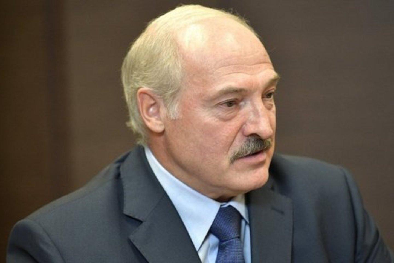 Aliaksandras Lukašenka.<br>novayagazeta.ee nuotr.