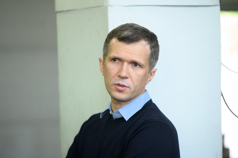 R. Junevičius:norisi, kad Lietuvoje būtų kuriami produktai. Daug ką Lietuvoje galima padaryti – tik niekas to nedaro.<br>V. Skaraičio nuotr.