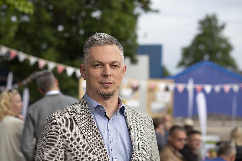 """""""Vikonda"""" grupės generalinis direktorius Mindaugas Snarskis."""