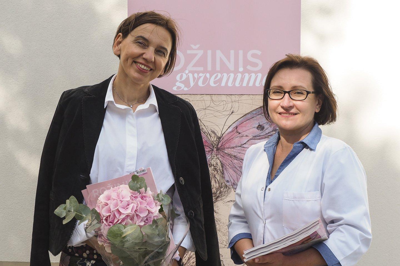 Lietuvos periodikos padangėje atsirado naujas leidinys, skirtas moterims, sergančioms krūties vėžiu.<br>Edmundo Paukštės nuotr.
