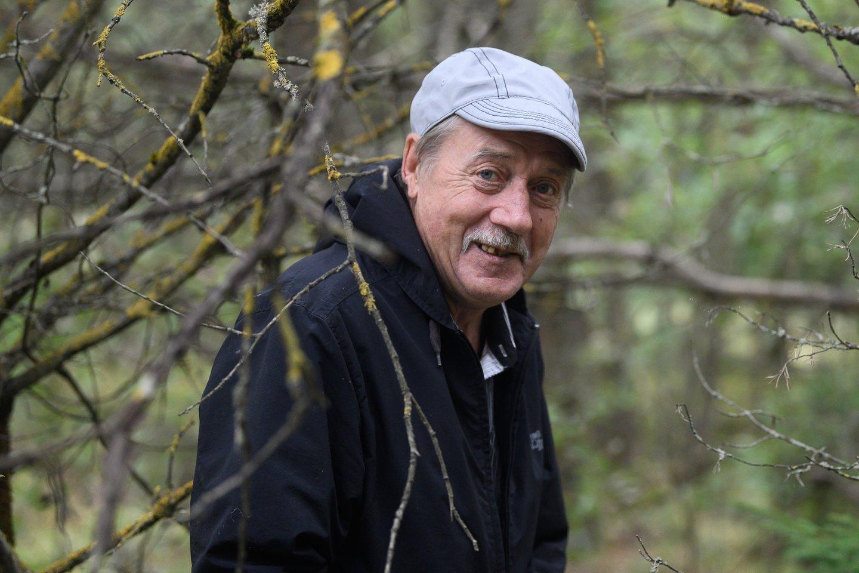 Fiodoras dūsavo, kad prieš porą metų miškai aplink Vilnių buvo dosnesni.<br>V.Skaraičio nuotr.
