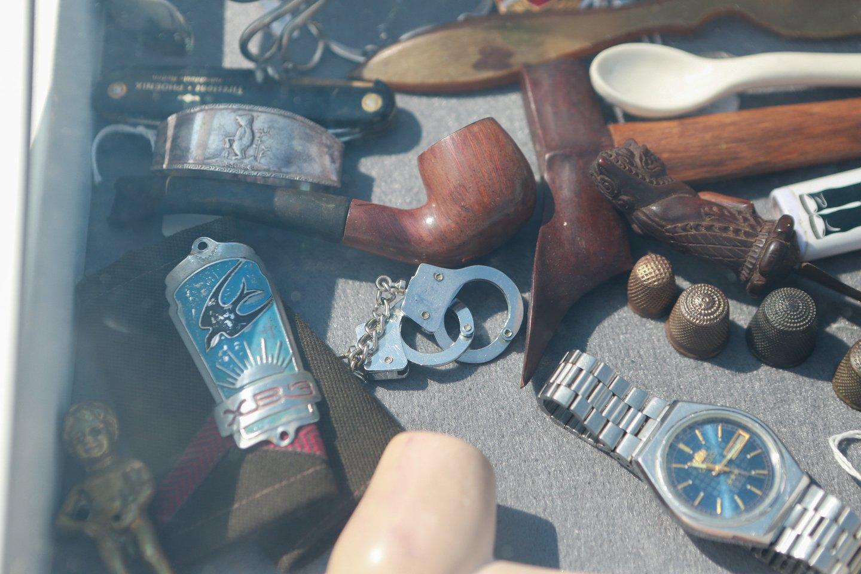 Vyksta šeštoji tarptautinė antikvarinių daiktų ir sendaikčių mugė.<br>G.Bitvinsko nuotr.