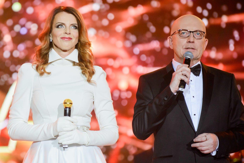 Inga ir Arūnas Valinskai.<br>J.Stacevičiaus nuotr.