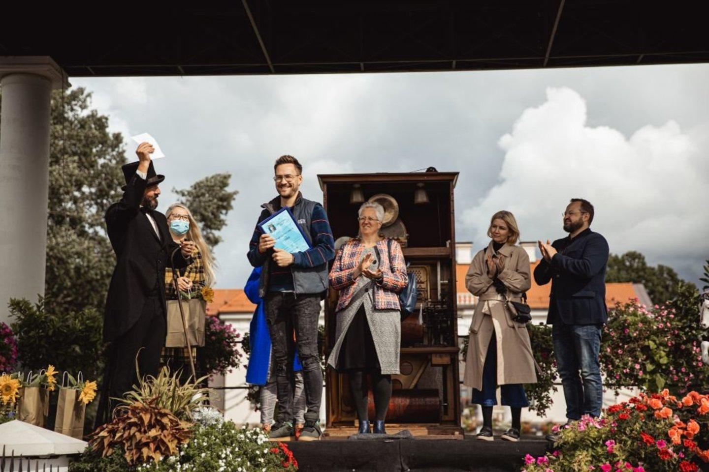 """Vestuvinių arkų puošybos konkursas """"Meilės arkos 2020"""".<br>G.Rapalis nuotr."""