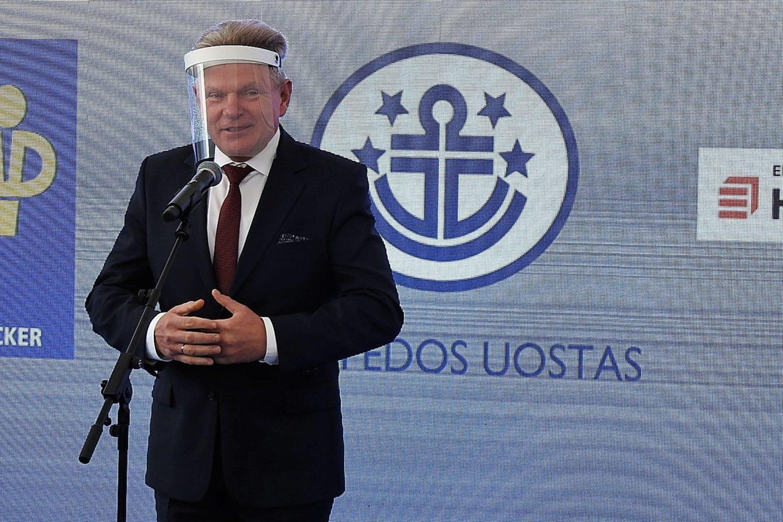 J.Narkevičius įvertino 49 mln. eurų kainuosiantį projektą.<br>G.Pilaičio nuotr.