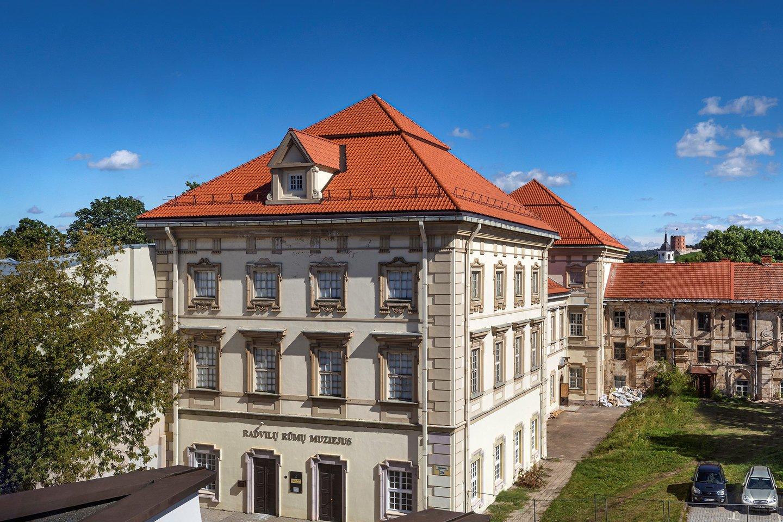 Vilniaus Jonušo Radvilos rūmai.<br>G.Grigėnaitės nuotr.