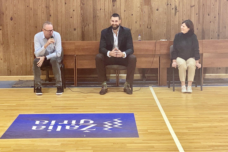J.Valančiūnas pasidalino mintimis apie NBA burbulą bei papasakojo apie ateities planus.<br>V.Ščiavinsko nuotr.