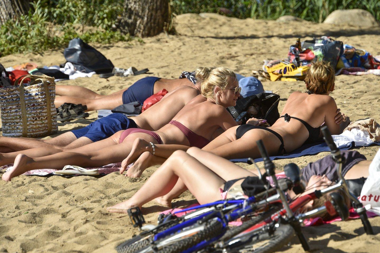 Vilniaus paplūdimiuose oficialiai baigtas maudynių sezonas.<br>V.Ščiavinsko nuotr.