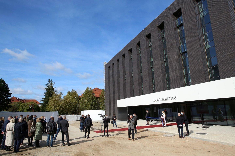 LSMU paskelbta apie svarbių projektų pradžią.<br>M.Patašiaus nuotr.