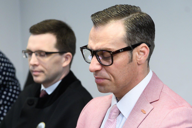 Andrius Kandelis išgirdo teismo nuosprendį.<br>V.Skaraičio nuotr.