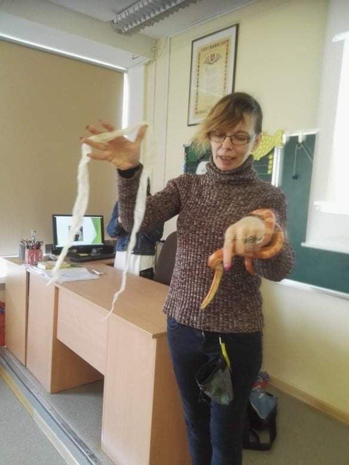 Kartais pagalbos prireikia išties egzotiškiems gyvūnams.<br>Asmeninio archyvo nuotr.