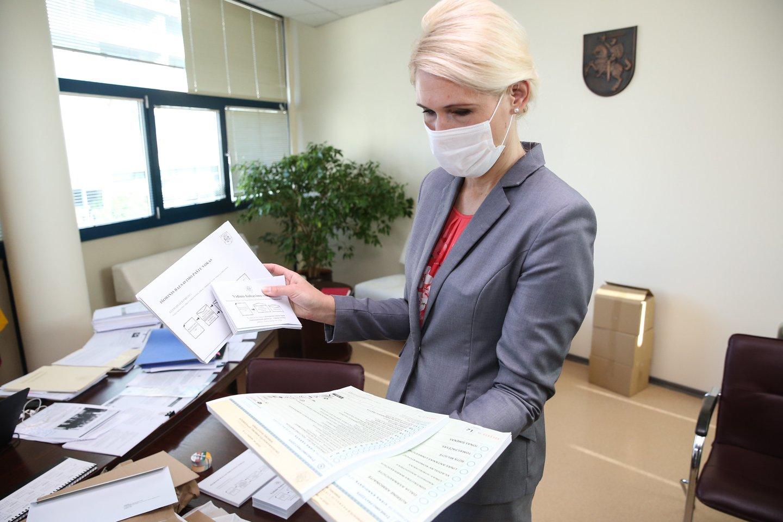Vyriausiosios rinkimų komisijos (VRK) pirmininkė Laura Matjošaitytė.<br>R.Danisevičiaus nuotr.