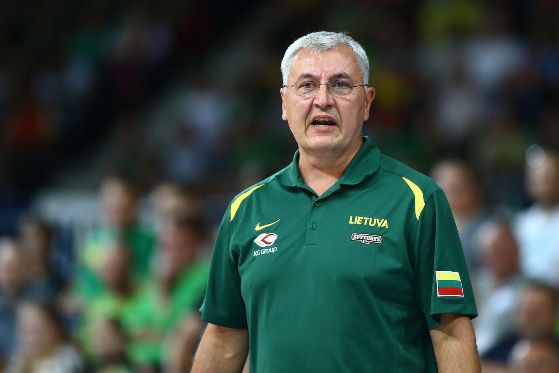 Jonas Kazlauskas papasakojo apie Sidnėjaus olimpiadą.<br>G.Šiupario nuotr.