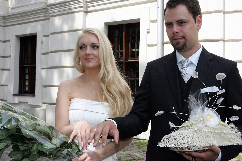 Rūta Ščiogolevaitė ir Rolandas Damijonaitis.<br>LR archyvo nuotr.
