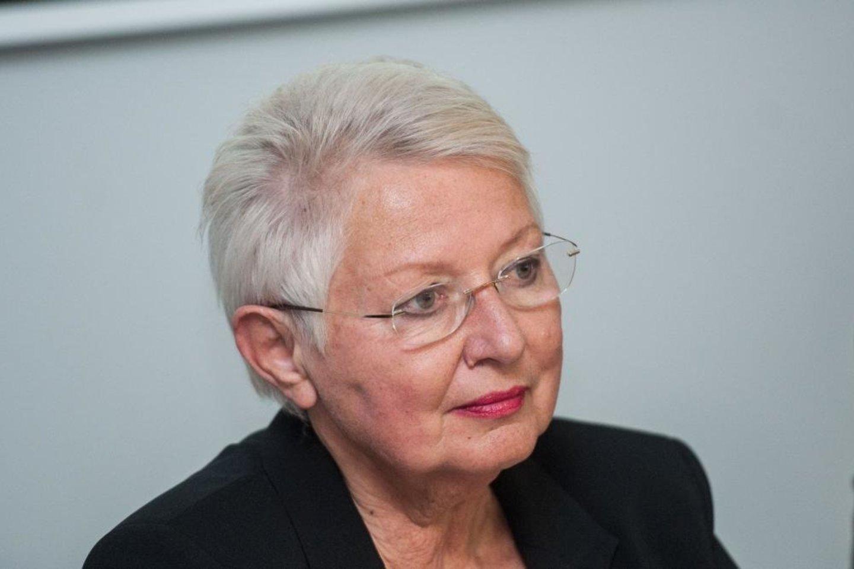 Adolfo Ramanausko-Vanago dukra Auksutė Ramanauskaitė-Skokauskienė.<br>Archyvo nuotr.