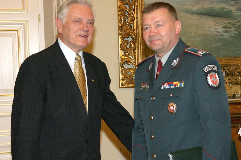 Valdas Adamkus ir Vytautas Grigaravičius 2006 m.