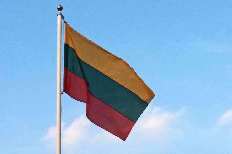 """1988 m. LSSR Aukščiausioji Taryba legalizavo tautinę trispalvę vėliavą, Vytį, Gediminaičių stulpus ir """"Tautišką giesmę"""" – pripažino juos nacionaliniais simboliais. Tarybos Prezidiumas pasiūlė LSSR konstitucijoje lietuvių kalbą įteisinti kaip valstybinę kalbą.<br>A.Vaitkevičiaus nuotr."""
