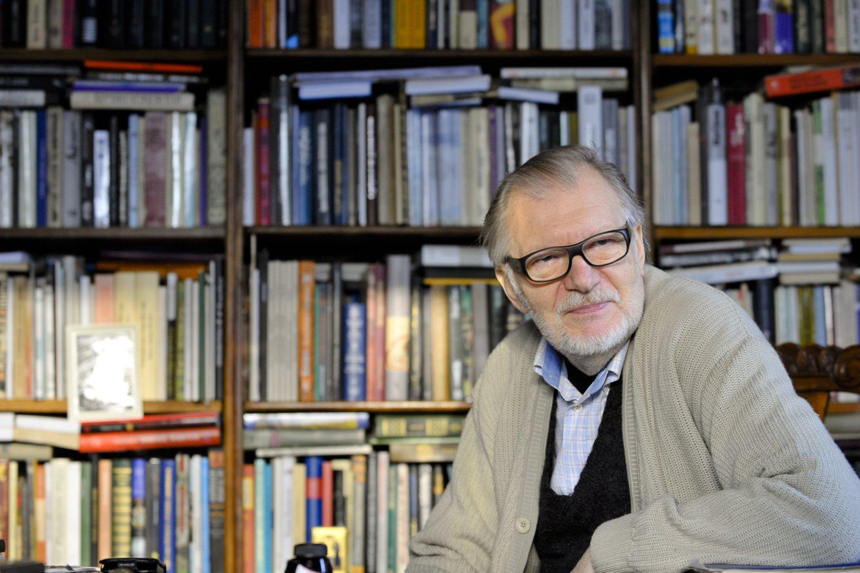 1940 m. gimė aktorius, Nacionalinės premijos laureatas Juozas Budraitis.<br>V.Ščiavinsko nuotr.