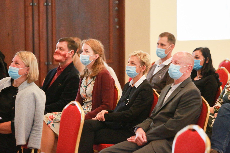 Konferencijos dalyviai dalijosi patirtimi ir aptarė ateities planus.<br>G.Bitvinsko nuotr.