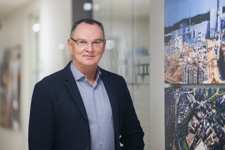Investuotojas, vienintelis VMG grupės akcininkas Sigitas Paulauskas.<br>Bendrovės nuotr.
