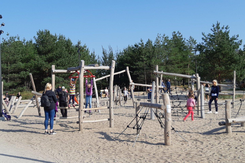 Žaidimų erdvė vaikams.<br>G.Pilaičio nuotr.