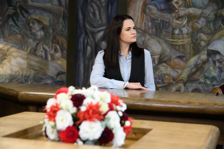 Neįtikėtinas patiklumas: Danijos parlamentarų pasitarime dalyvavo S. Cichanouskaja apsimetusi moteris.<br>V.Skaraičio nuotr.