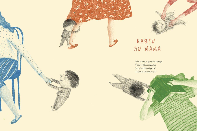 """Naujausioje Evelinos knygelėje yra itin daug jos asmeninės, mamiškos bendravimo su vaikais patirties.<br>""""Alma littera"""" nuotr."""