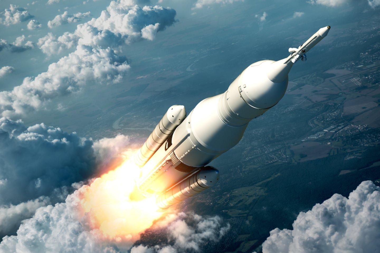 Tikimasi, kad raketos bandymai prasidės jau kitais metais (asociatyvinė nuotr.)<br>123rf iliustr.