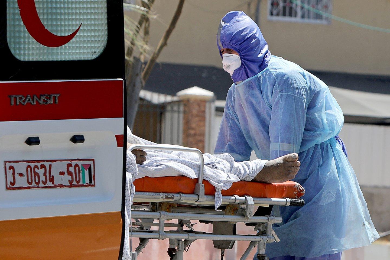 Koronavirusas pasaulyje.<br>Reuters//Scanpix nuotr.