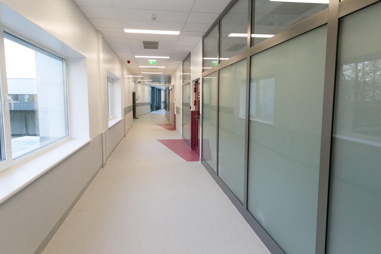 infekcinių ligų korpusas santara infekcinė ligoninė<br>T.Bauro nuotr.