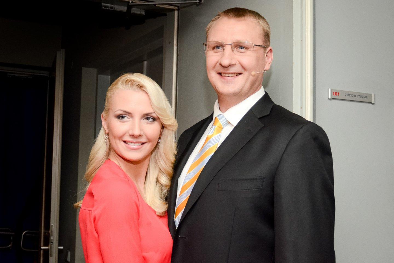 Andrius Šedžius ir Monika Kvietkutė.<br>LR archyvo nuotr.