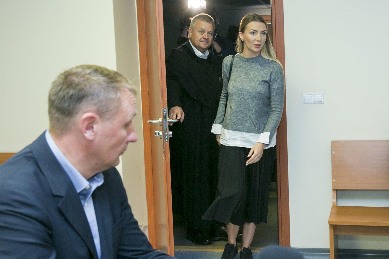 Monika Kvietkutė ir Andrius Šedžius.<br>T.Bauro nuotr.