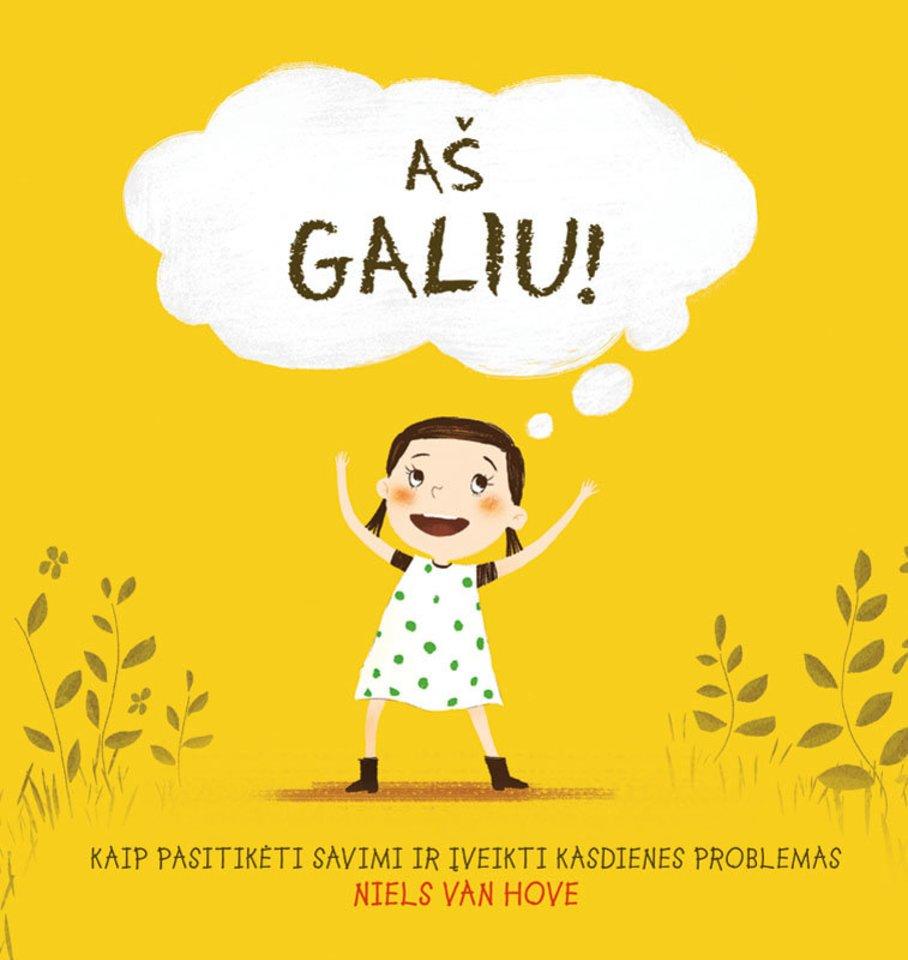 """Nielso van Hove knygelėje """"Aš galiu! Kaip pasitikėti savimi ir įveikti kasdienes problemas"""" Keitė nuolatos susiduria su įvairiomis nemaloniomis situacijomis, mokosi pasitikėti savimi ir įveikti kasdienes problemas.<br>""""Alma littera"""" nuotr."""