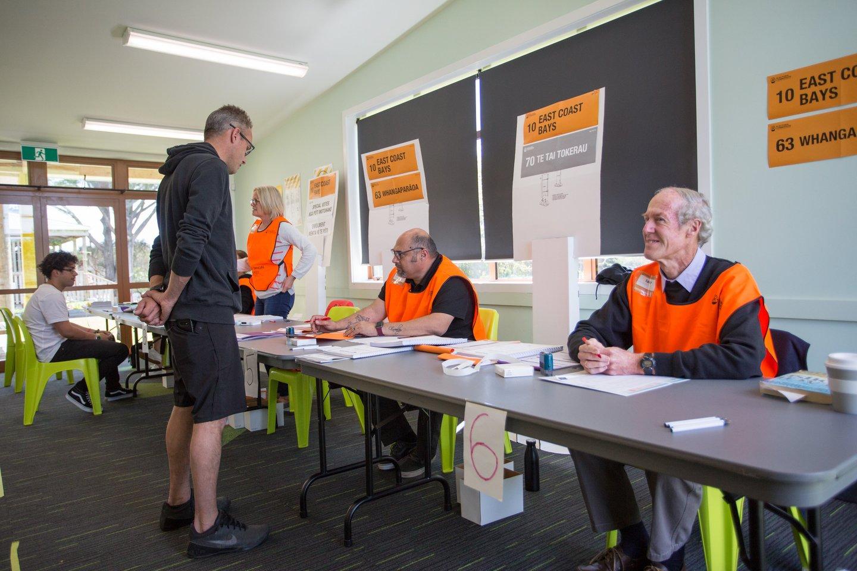 Naujojoje Zelandijoje baigėsi balsavimas visuotiniuose rinkimuose. <br>ZUMA Press/Scanpix nuotr.