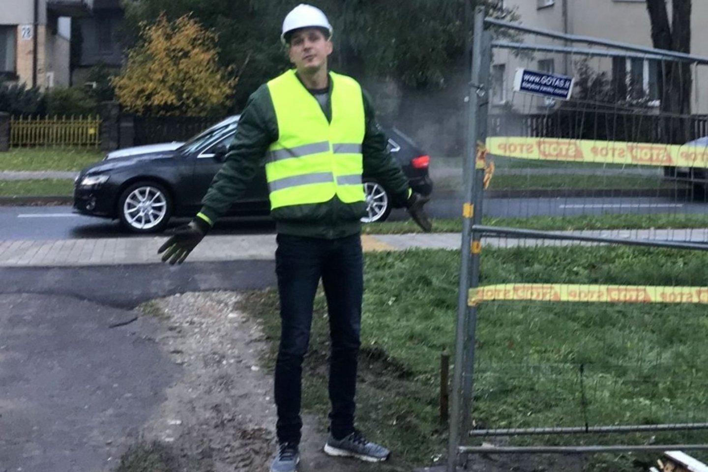 Nuotr. statybos darbų vadovas.<br>Feisbuko (Audriaus Karaliaus paskyra) nuotr.