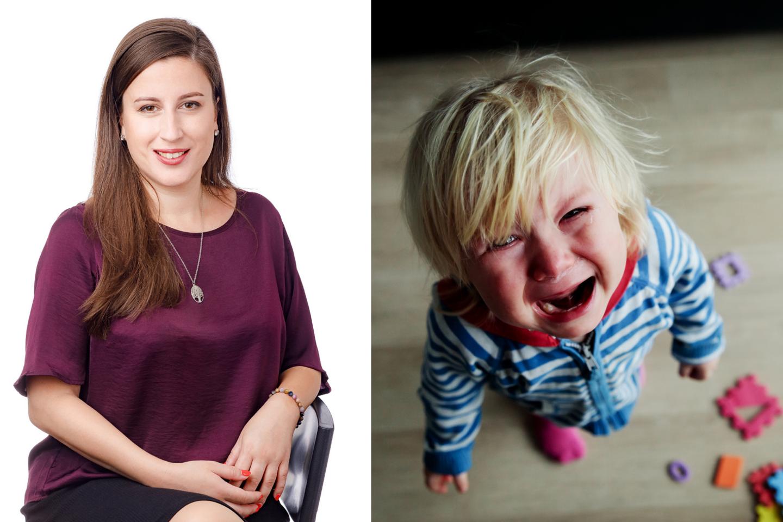 """Vaikų psichologė, raidos terapeutė, """"Laimingas vaikas"""" įkūrėja Milda Karklytė-Palevičienė neabejoja, kad ugdyti vaiko ir suaugusiojo emocinį intelektą niekada nevėlu.<br>lrytas.lt koliažas"""