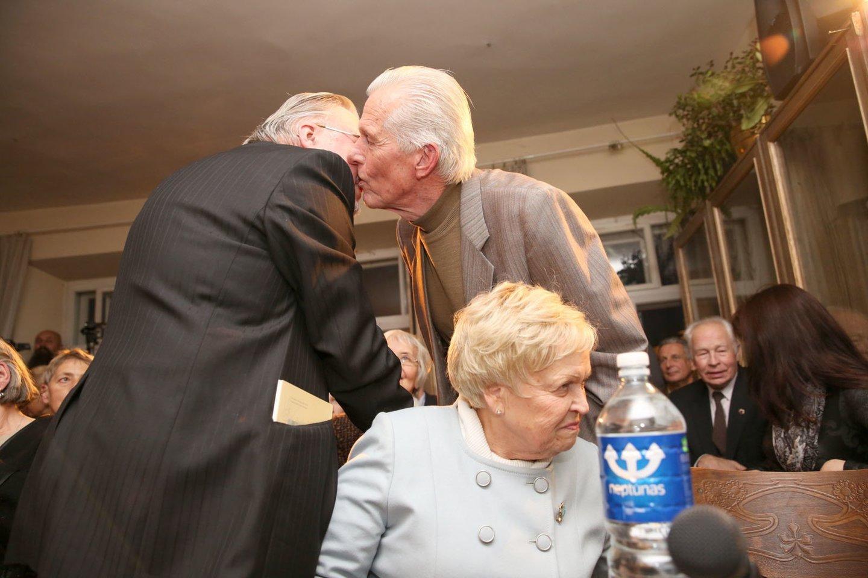 Vaclovas Daunoras operos patriarchui A.Sodeikai skirtame vakare<br>R.Danisevičiaus nuotr.