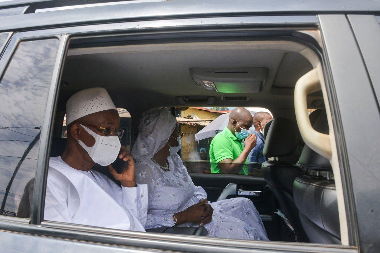Gvinėjos pagrindinis opozicijos lyderis Cellou Daleinas Diallo.<br>AFP/Scanpix nuotr.