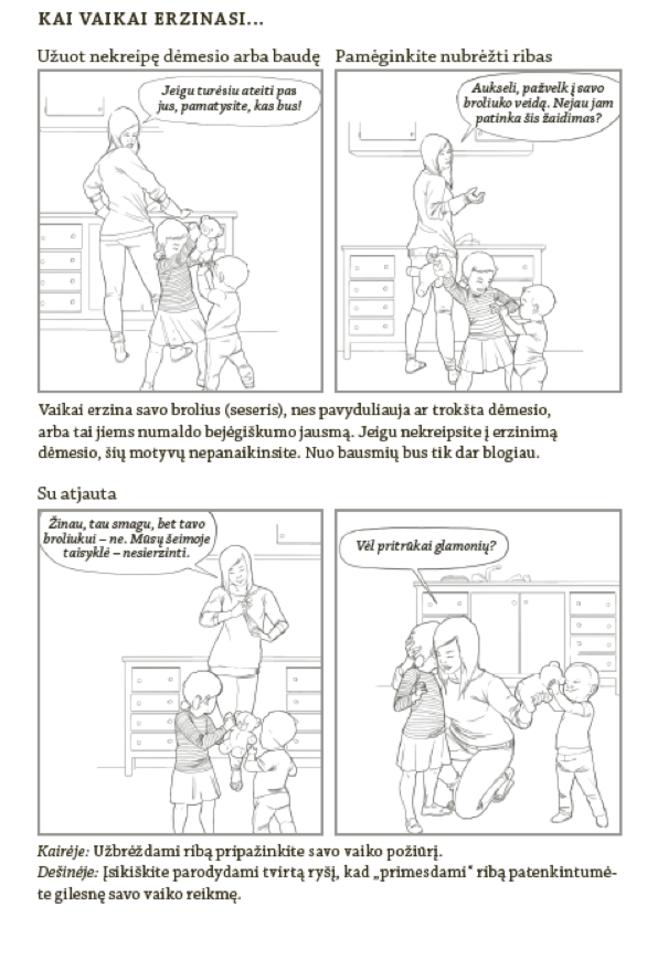 """Pavyzdys, kaip nukreipti vaikų dėmesį nuo tarpusavio rietenų.<br>""""Vaga"""" nuotr."""