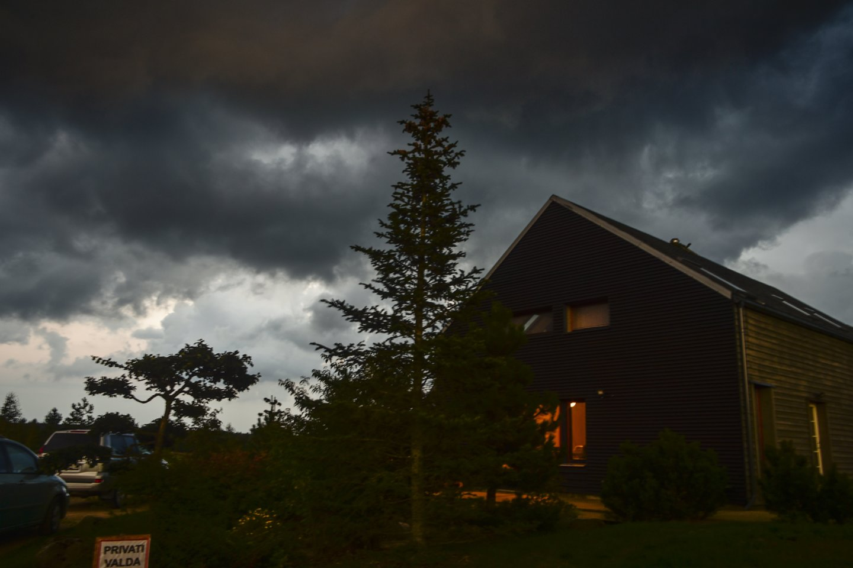 Debesys,lietus,audra,ruduo,orai<br>V.Ščiavinsko nuotr.
