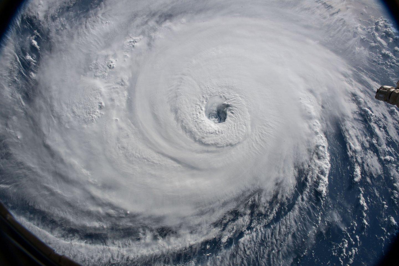 JAV krantus pasiekė uraganas.<br>Scanpix/Reuters/AFP asociatyvi nuotr.