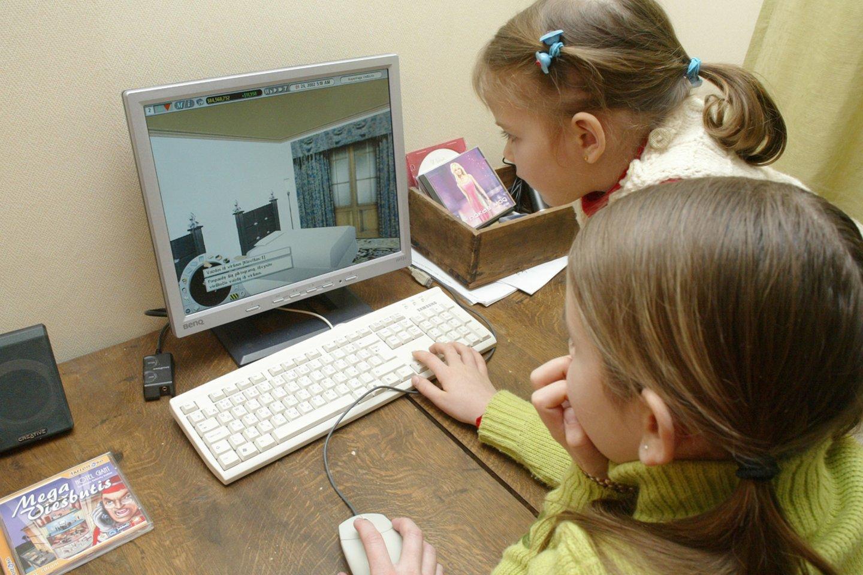 Iki lapkričio 9 d. vaikai būrelius lankys nuotoliniu būdu.<br>T.Stasevičiaus nuotr.