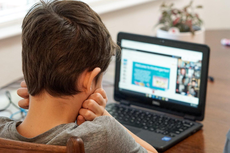 """Iki lapkričio 9 d. vaikai būrelius lankys nuotoliniu būdu.<br>""""Unsplash"""" nuotr."""