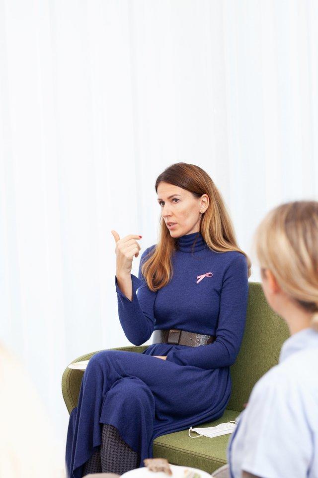 Galimybė sužinoti sveikatos būklę dar iki tol, kol grėsmingi pakitimai atsiranda kūno audiniuose yra neįtikėtina medicinos pažanga, keičianti žmonijos ateitį.<br>K.Jasudaitės nuotr.