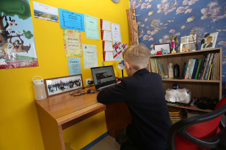 Iki lapkričio 9 d. vaikai būrelius lankys nuotoliniu būdu.<br>M.Patašiaus nuotr.