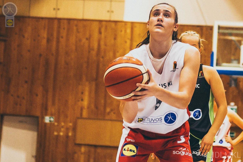 """Sidabrinį skrydį Europoje prisiminusi A. Zdanevičiūtė: """"Moterų krepšinis buvo labai nutildytas"""".<br>E.Petriko nuotr."""