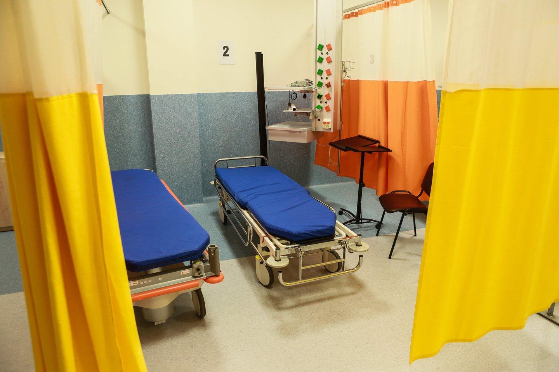 Kauno klinikos, skubios pagalbos skyrius.<br>G.Bitvinsko nuotr.