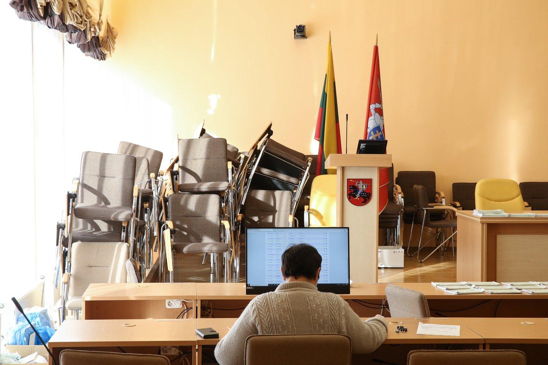 Šis penktadienis buvo paskutinė diena, kai kandidatai ir jų rėmėjai gali agituoti prieš sekmadienį vyksiantį Seimo rinkimų antrąjį turą.<br>R.Danisevičiaus nuotr.