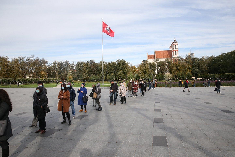 Spalio 25 d. vyko antrasis rinkimų į Seimą turas.<br>R.Danisevičiaus nuotr.
